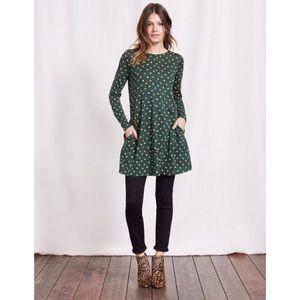 Boden Jersey Polka Dot Tunic Swing Dress, Size 6